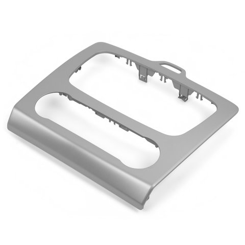 Car Trim Plate for Ford with Climate Control (Silvery) Preview 1