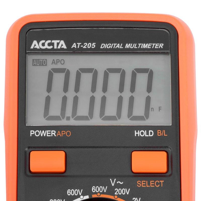 Цифровий мультиметр Accta AT-205 Зображення 5