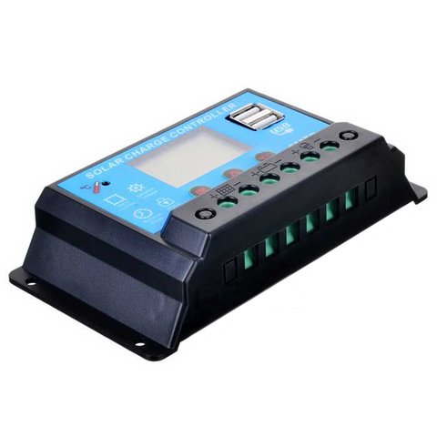 Контролер заряджання фотомодуля PVI-PWM-10A (10 A) Прев'ю 2