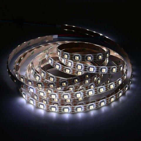 Світлодіодна стрічка SMD5050 SK6812 (1800-7000 K, біла, з управлінням, IP65, 5 В, 60 діодів/м, 5 м) Прев'ю 4