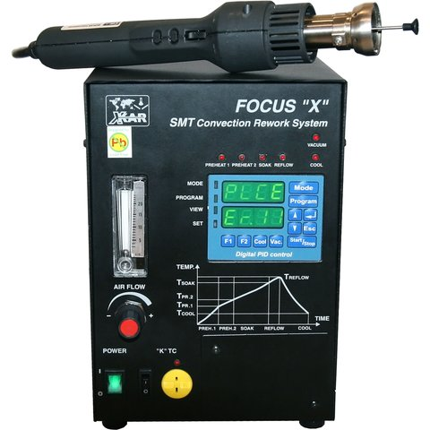 BOKAR X-FineRework-SP2-AL-IL; SMT Rework System Preview 3