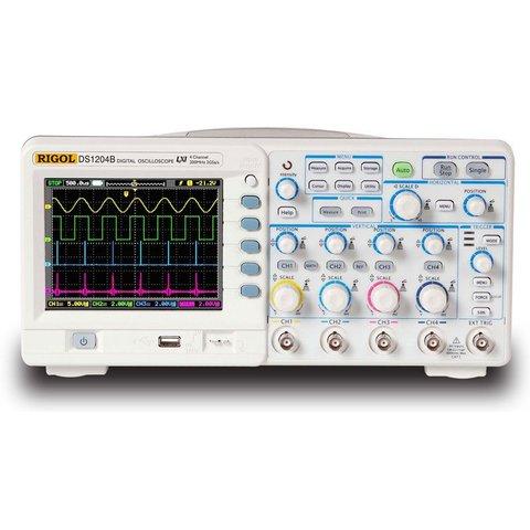 Digital 4-channel Oscilloscope RIGOL DS1204B Preview 4