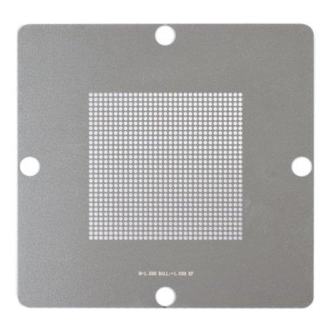 Universal BGA Stencil for ACHI 56, LP-37 BGA Reballing Kits;ACHI Reballing Stand BGA Reballing Stand, (pitch 1.5 mm, diameter 1.0 mm)