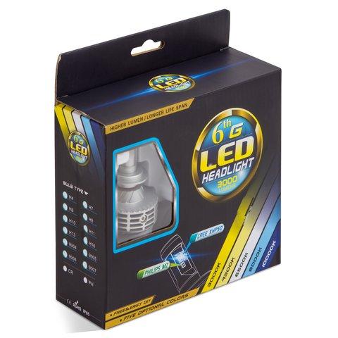 Car LED Headlamp Kit UP-6HL (9005 (HB3), 3000 lm) Preview 2